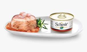 The Schesir range of premium cat food