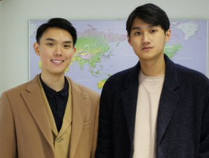 Jeffrey Man (left) and Davy Chan