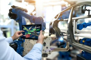 AI R&D innovations are widely applied in the manufacturing sector