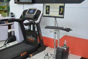 Sensor Medica's baropodometric treadmill