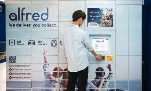 Alfred smart lockers accept deliveries around the clock