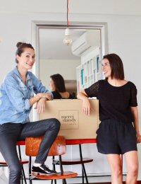 Chloe Berger (left) and Magali Portes