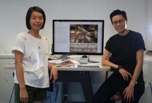 Keikko Lee (right) and Rosetta Lau (left)