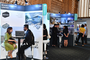Hong Kong services providers offer business tips during the event