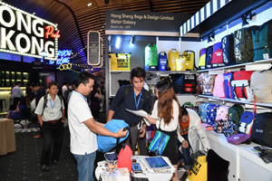 Products from Hong Kong draw strong interest