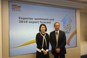Nicholas Kwan (right) and Alice Tsang