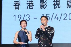 Leon Lai and Heidi Chu