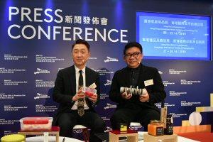 Benjamin Chau (left) and Brian Sun
