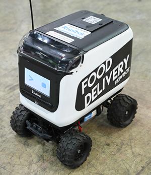 Kiwibot robot