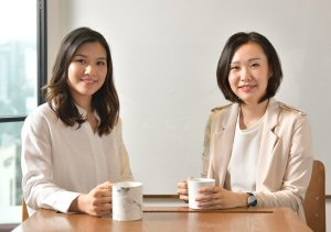CCO Connie Lee (left) and CEO Mazing Lee