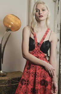 Emma Wallace concentrates on formal wear