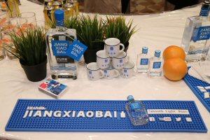 Fair exhibitor JIANGXIAOBAI offers soft sorghum baijiu