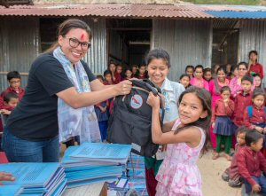 Bahini offers work opportunities and sponsors education