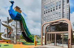 The rooftop adventure playground by Danish firm Monstrum