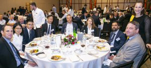 The delegation's luncheon offered networking opportunities