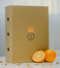 A gift pack for the signature oranges