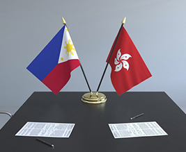 The agreements cover trade and investment between the Philippines and Hong Kong