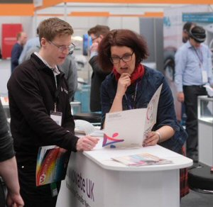 Building wearables awareness at London's leading on person tech expo