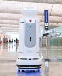 The Airport Authority bought a batch of the robots after seeing their performance