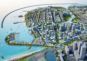 Construction work on Colombo Port City continues despite the coronavirus