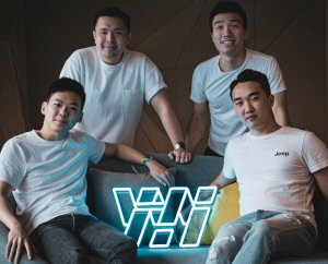 (from left) Patrick Tu, Alex Chu, Eugene Ho and Jung Hong Kim