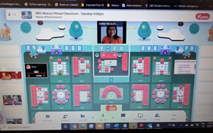 A set of virtual classrooms