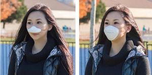 Hong Kong-designed masks