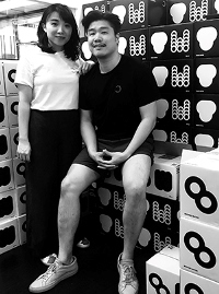 Daniella Ieong and Victor Li