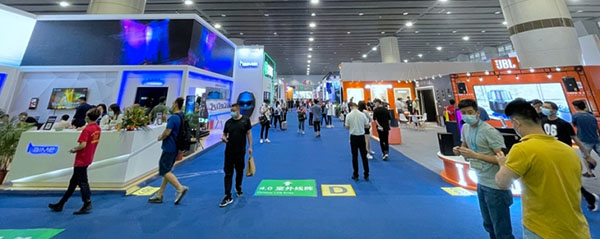 Bright prospects: The Guangzhou International Professional Light and Sound Exhibition.