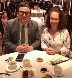 Steve Wong and Olivia Merz-Fischer