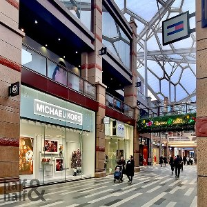 shopping arcade project in Mainland China's Xi'an