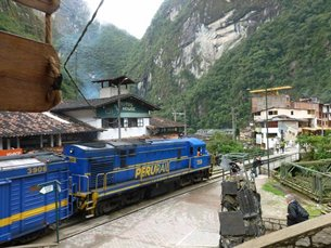 Photo: Transoceanic rail links.