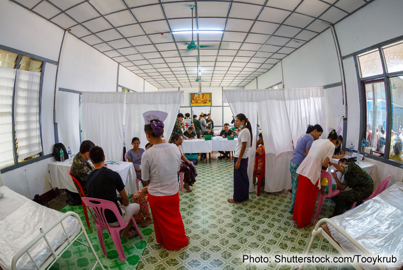 Myanmar's Soaring Health Sector Prompts Medical Supplier