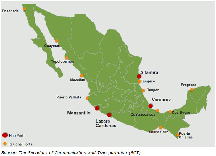 Altamira Mexico Map.The Distribution Path Across Mexico Hktdc Research Hkmb 商贸全接触