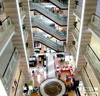 Photo: Shopping malls in contemporary design