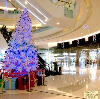 圖: 設計現代化的購物商場