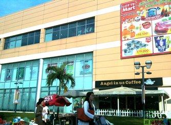 圖: 樂天瑪特是胡志明市的一站式購物商場