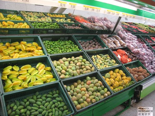 Colombia is a leading tropical fruit supplier in Latin America.