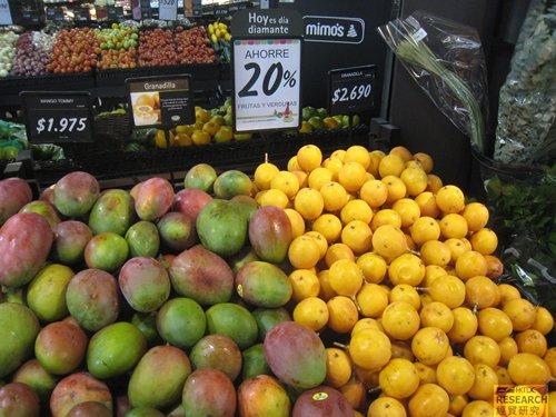 相片:哥伦比亚是拉丁美洲主要的热带水果供应地,该国出产的百香果、刺果番荔枝、金龙果、人心果、 热情果和灯笼果等在香港越来越受欢迎