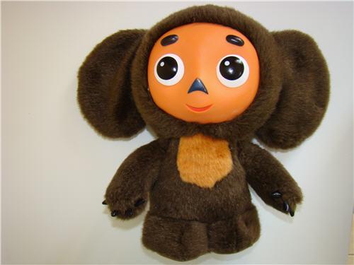 相片:俄羅斯著名的卡通人物「大耳猴」(Cheburashka)