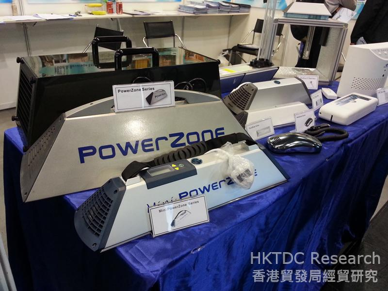 Photo: Products of BioZone shown at ECO Expo Asia 2013