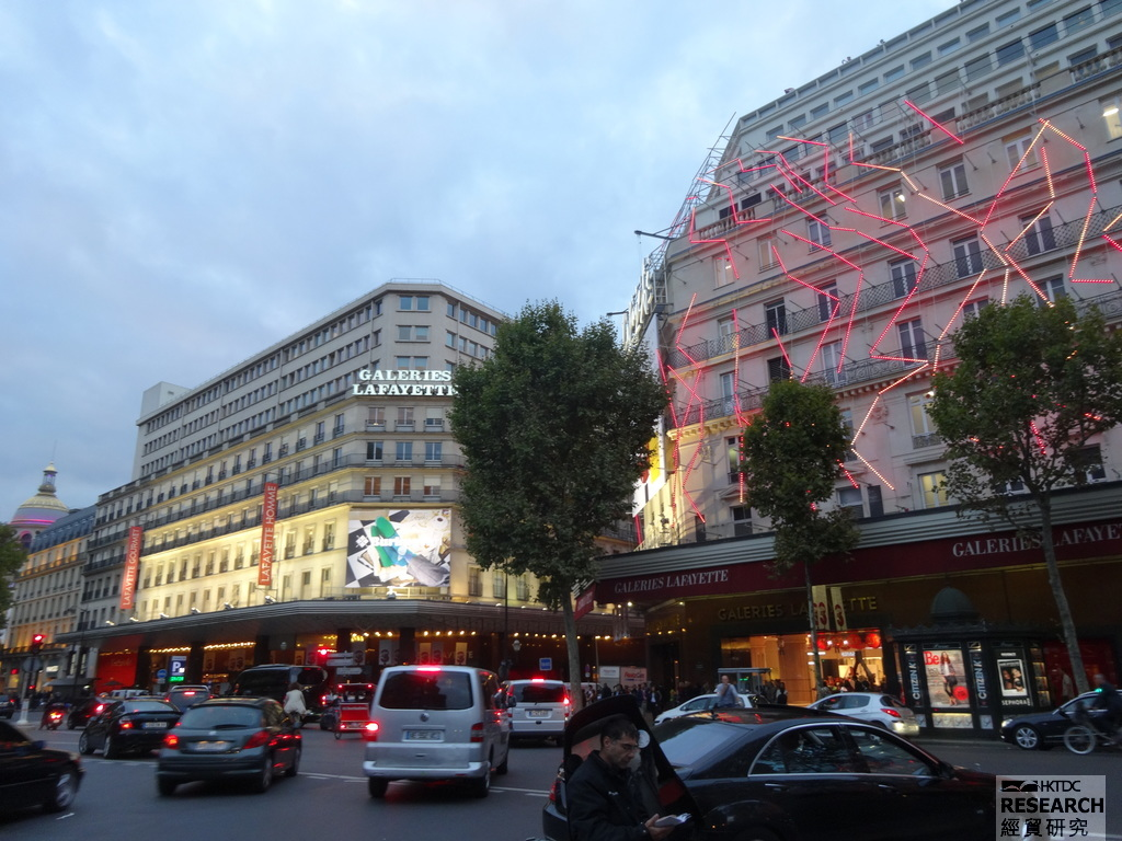 Photo: Popular shopping destinations for Asian tourists in France