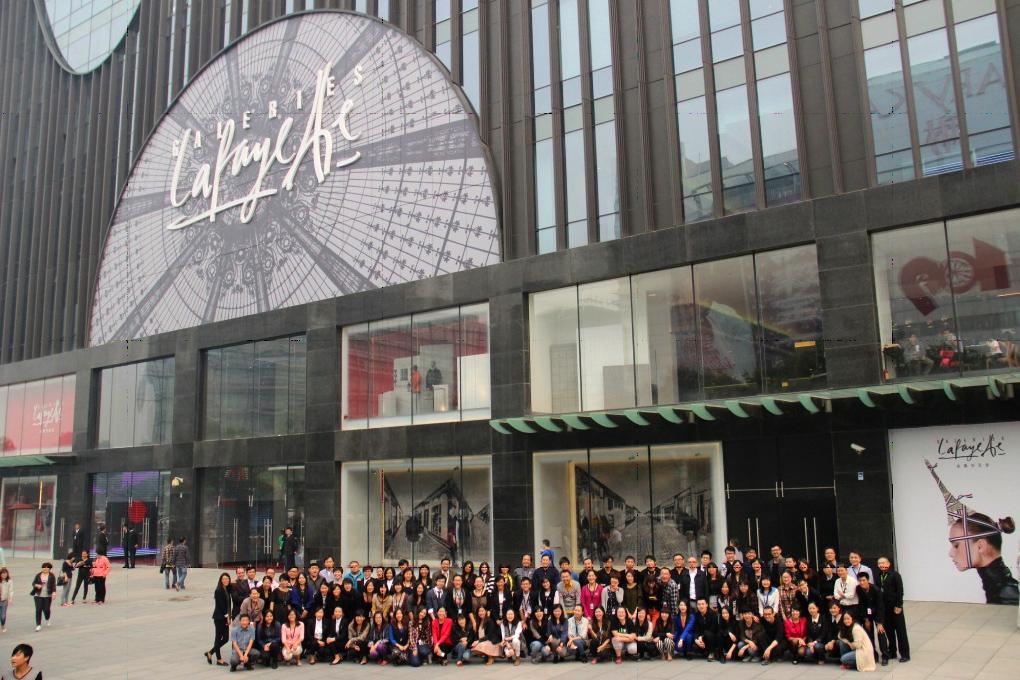 相片:該公司在北京的新合資百貨公司