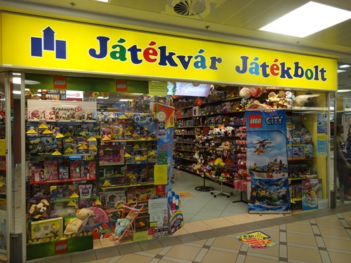 Photo: Specialised toy shops in Hungary