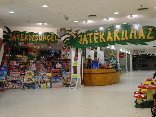 相片:匈牙利的玩具專門店