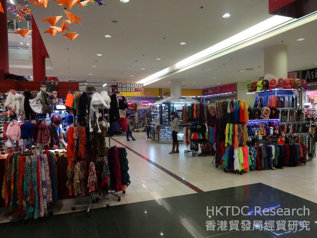 相片:Asia Center匯聚眾多亞洲時裝供應商,是布達佩斯一個甚受歡迎的批發中心。
