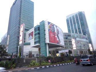 图: 雅加达大型购物商场Senayan City举办雅加达时装周