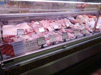 圖: 超市出售進口冰鮮肉類