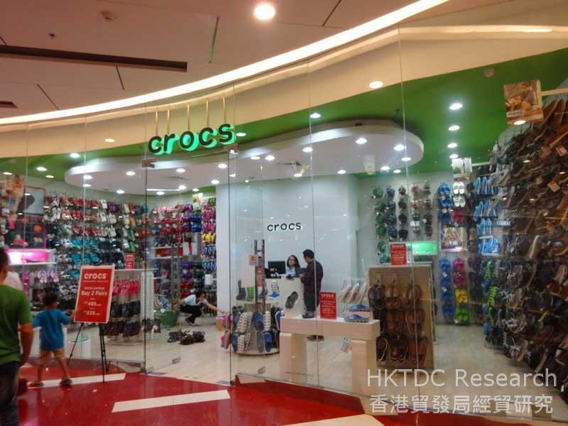 图: 泗水大型商场内的国际品牌 (2)