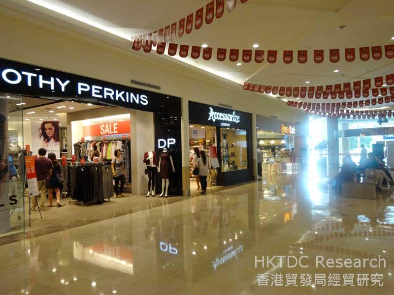 圖: 泗水大型商場內的國際品牌 (3)